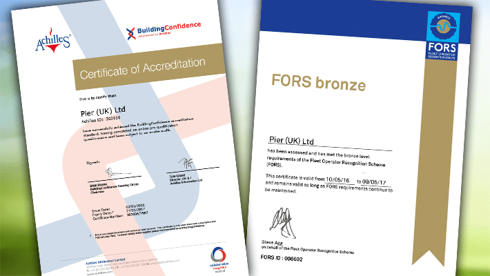 PIER (UK) Achieve A Double Accreditation