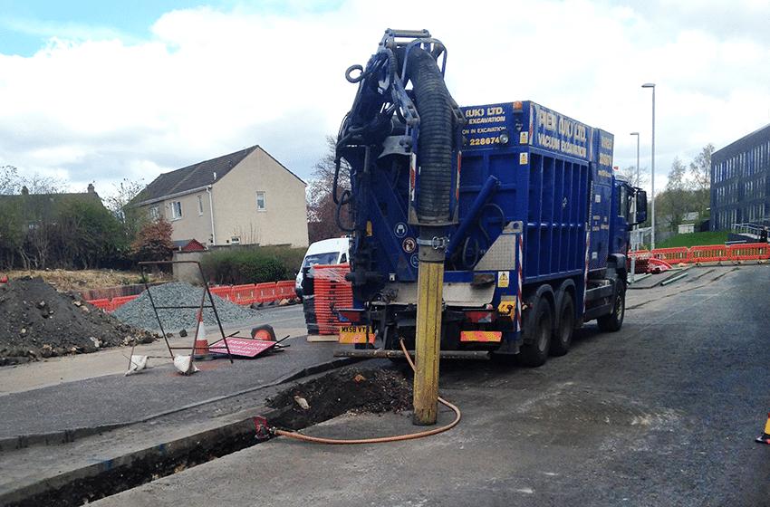 Vacuum Excavation Renfrewshire