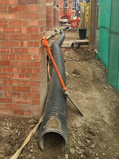 Vacuum Excavation in restricted area
