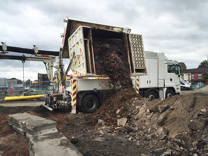 Vacuum Excavation Project: Improving Congestion in Lancashire