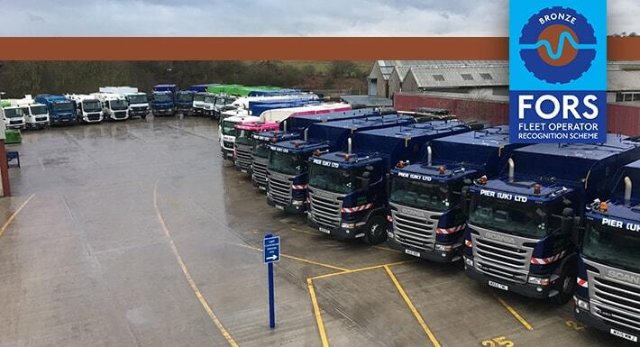PIER (UK) Renew FORS Accreditation For Vacuum Excavation Fleet