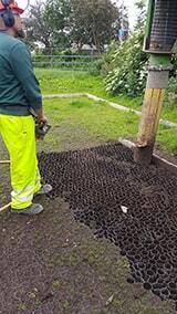 Vacuum Excavation Project: Car Park Ground Mesh