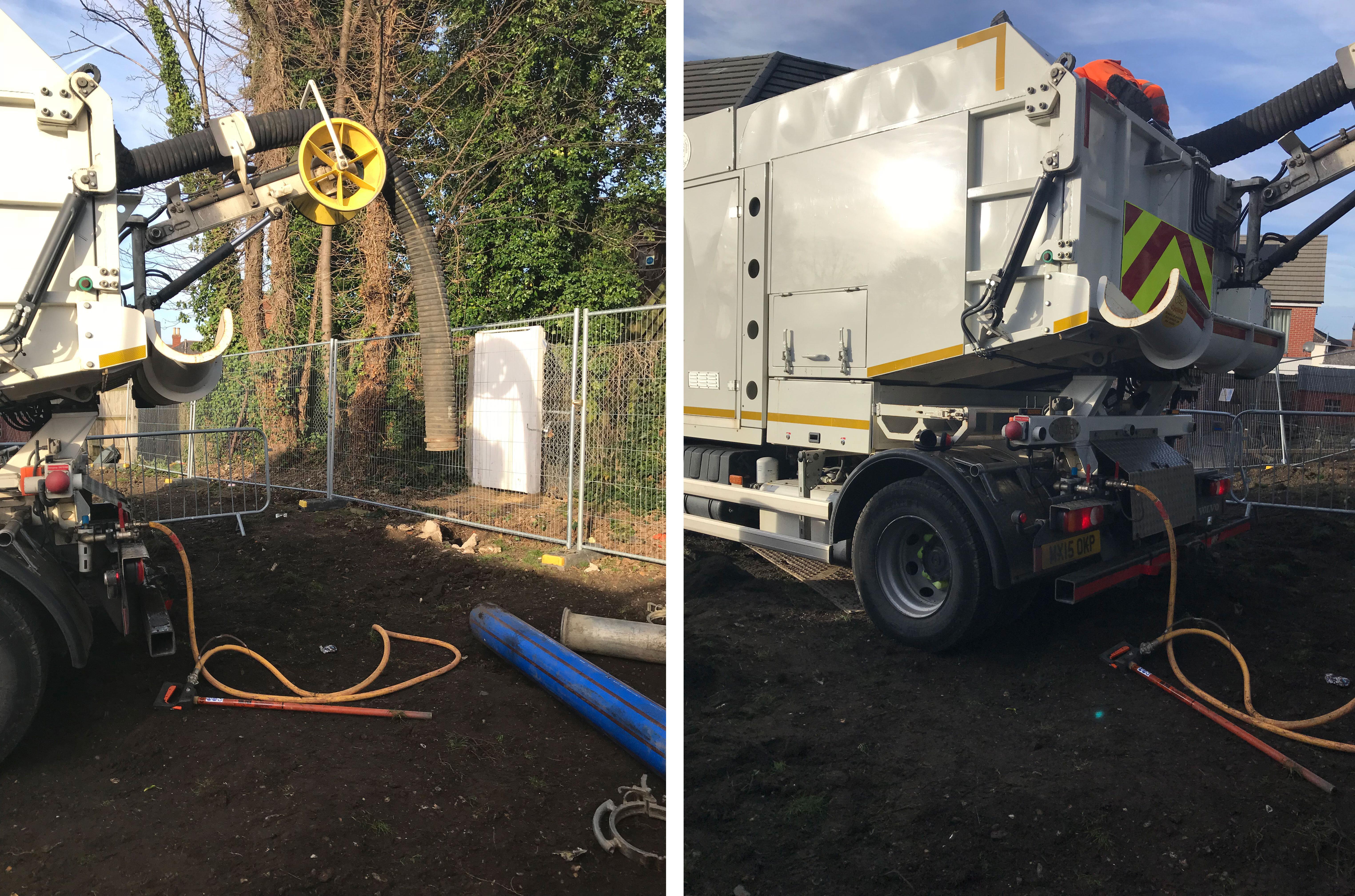 Vacuum Excavation Round Treeroots for Southampton Local
