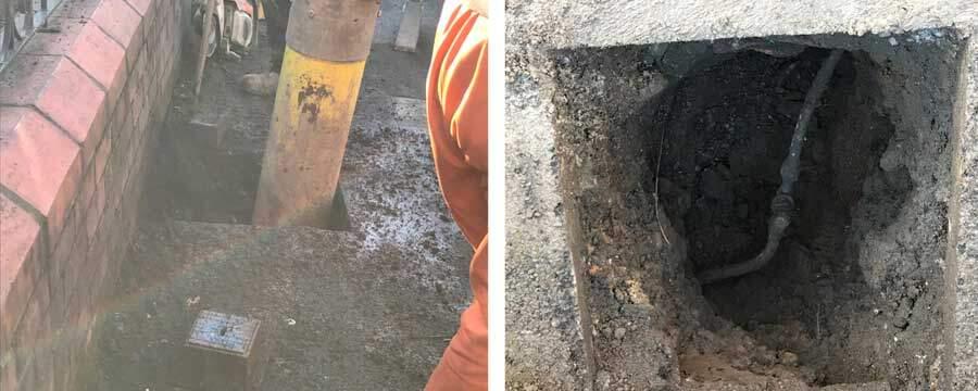 Vacuum Excavation Project: Water Meter Installations
