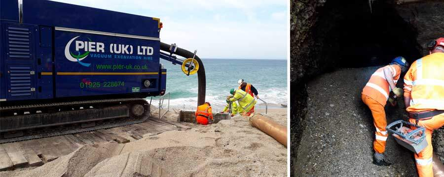 Vacuum Excavation Project: A Tracked-Vac Trip To The Beach