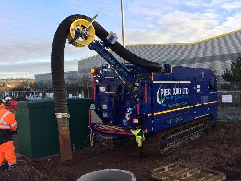 PIER (UK) Expand Their Vacuum Excavation Fleet