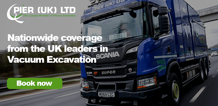 PIER (UK) - Nationwide coverage from the UK leaders in Vacuum Excavation