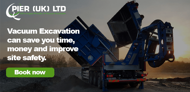 Vacuum Excavation can save you time, money and improve site safety