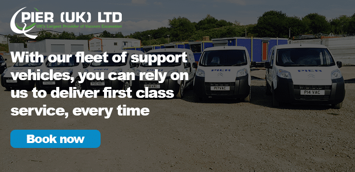 You rely on PIER UK to deliver excellent service