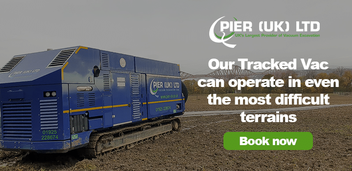 Tracked Vac - Book Now