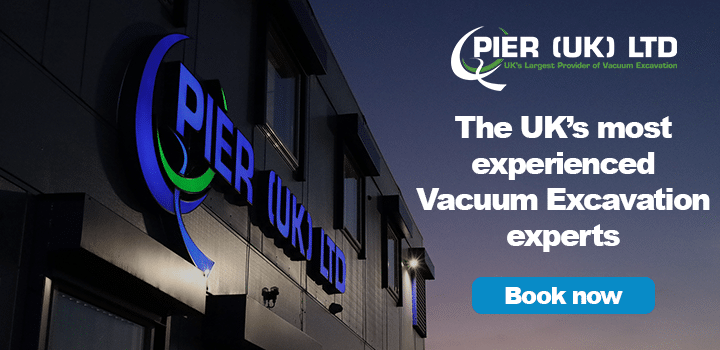 The UK's most experienced Vacuum Excavation experts - Book Now